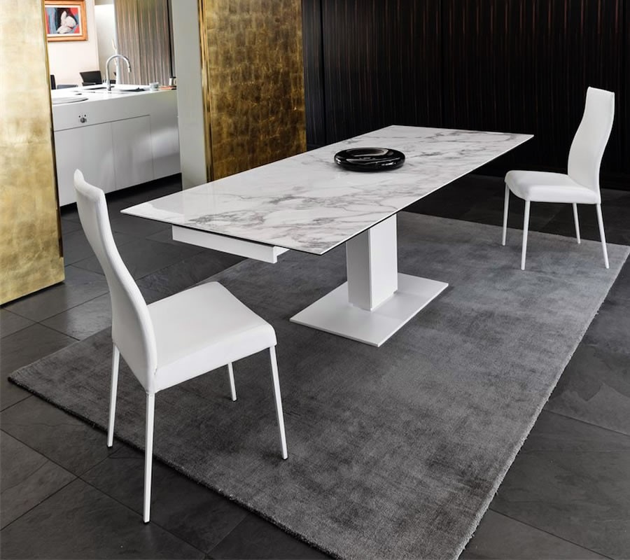 Echo dining table hip furniture for Calligaris echo
