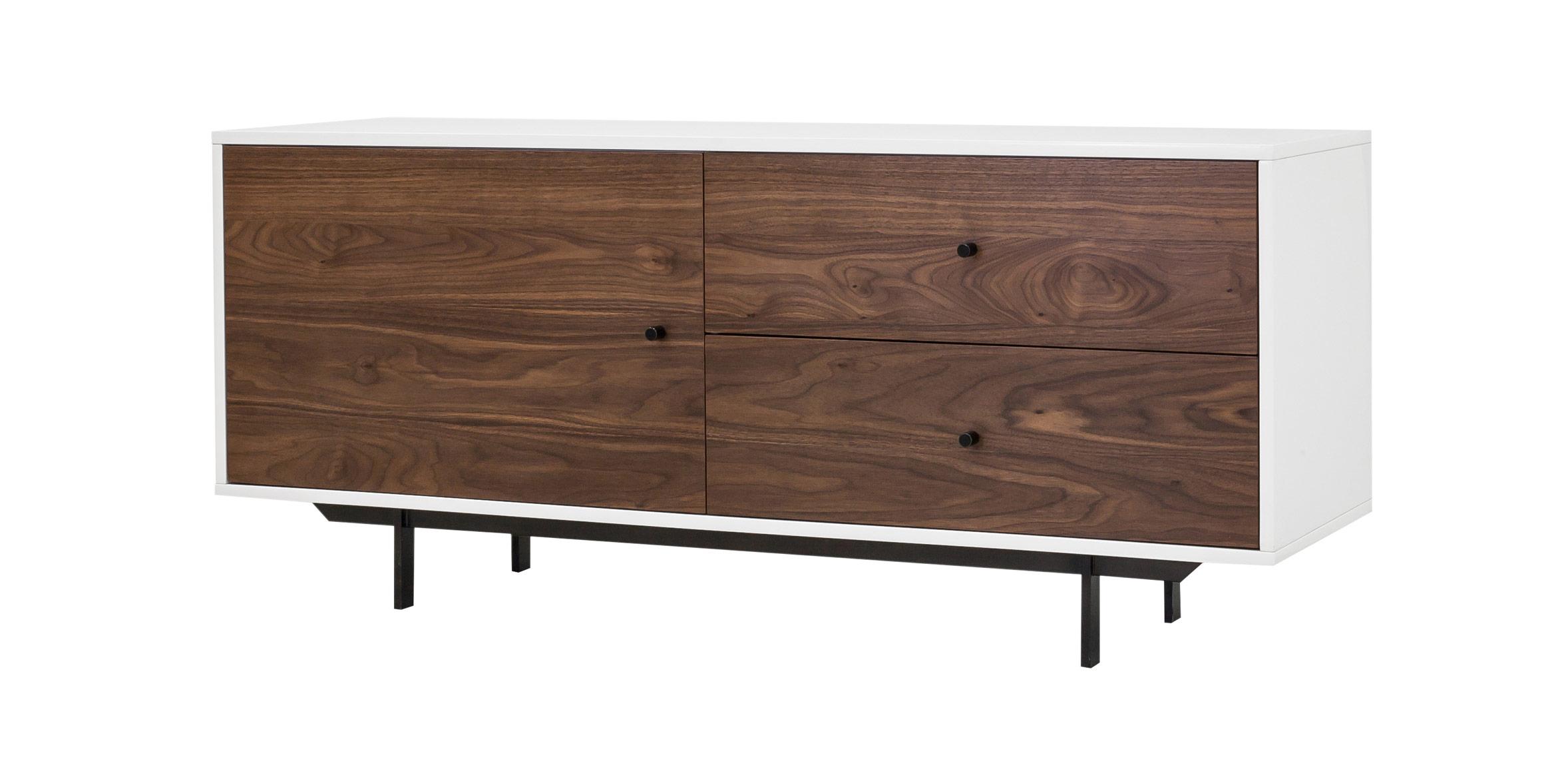 Tucker Two Drawer Media Cabinet Hip Furniture