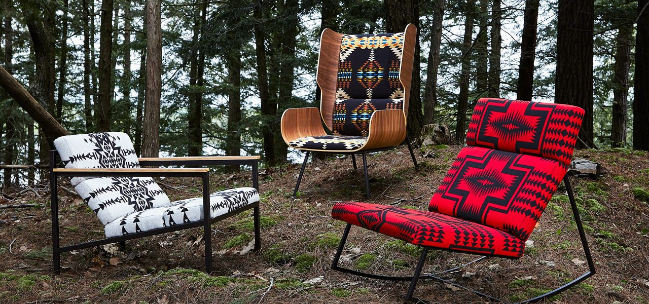 Pleasing Pendleton X Gus Modern Collaboration One Of A Kind Lamtechconsult Wood Chair Design Ideas Lamtechconsultcom